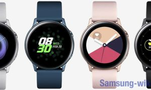 Как включить часы Samsung Galaxy Watch