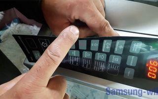 Микроволновая печь Самсунг ошибка -5Е/SE
