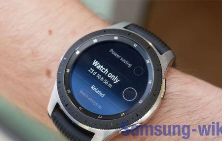 Как перезагрузить Galaxy Watch