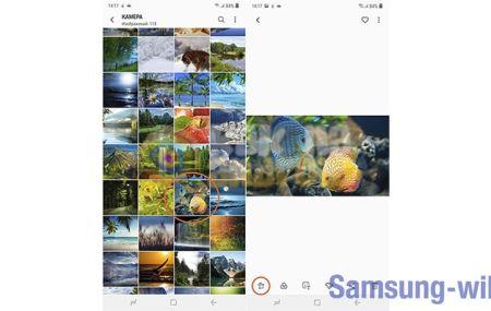 Как обрезать фото на телефоне Samsung