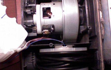 Разборка и ремонт двигателя пылесоса Samsung