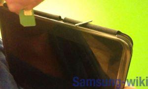 Как вставить СИМ-карту в планшет Самсунг
