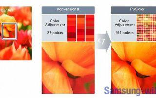 Что такое Purcolor Samsung