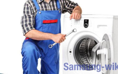Как разблокировать дверцу стиральной машины Samsung