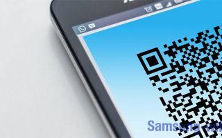 Как отсканировать QR код на Андроиде Самсунг