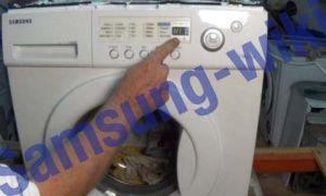 Ошибка H1 в стиральной машинке Samsung