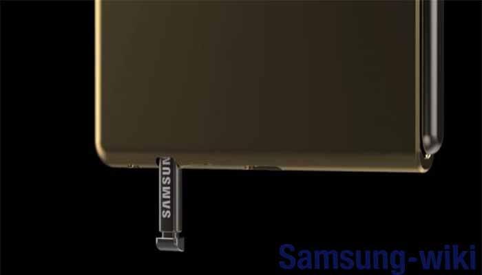фронтальная камера смартфона Samsung Galaxy Fold 2