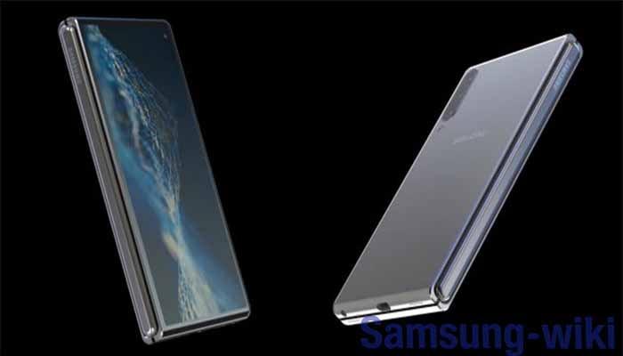 внешний вид смартфона Samsung Galaxy Fold 2
