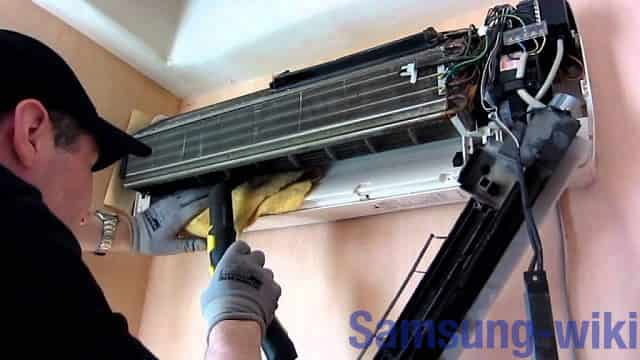 как почистить кондиционер дома самостоятельно самсунг
