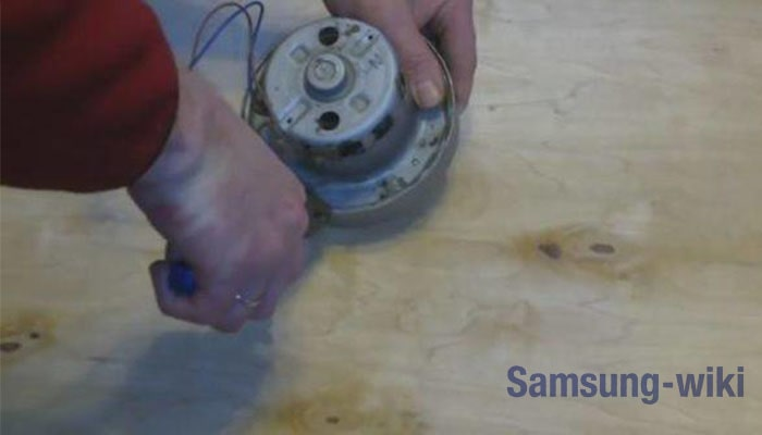 Особенности двигателя пылесоса Samsung