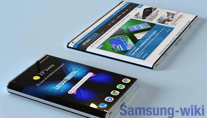 экран смартфона Samsung Galaxy Fold 2