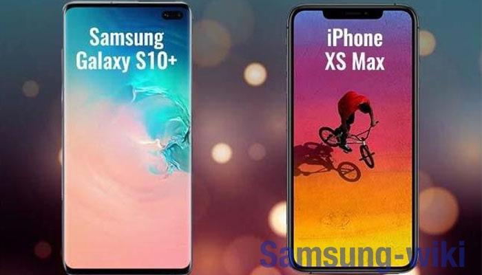 сравнить самсунг s10 и айфон xr