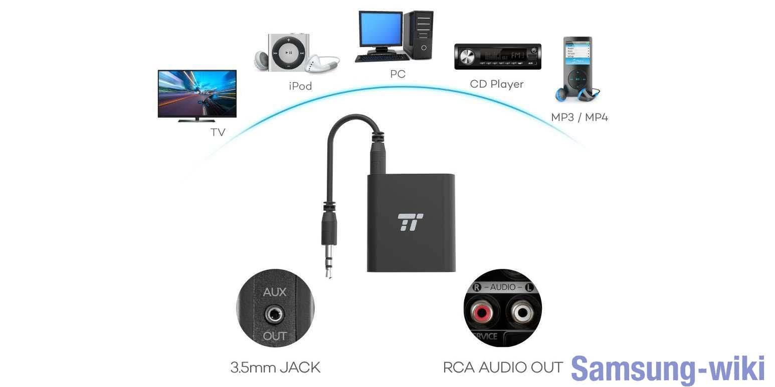 как подключить беспроводные наушники к телевизору самсунг смарт тв