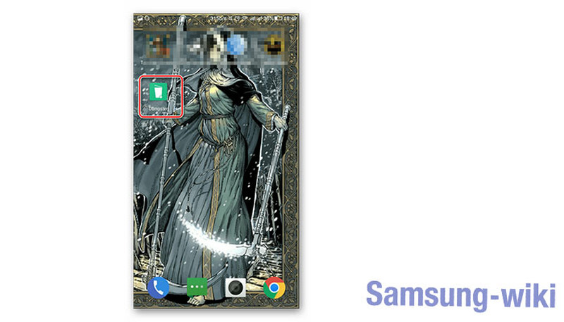 как восстановить удаленное видео на андроиде samsung