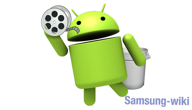 как восстановить удаленные видео на андроиде самсунг