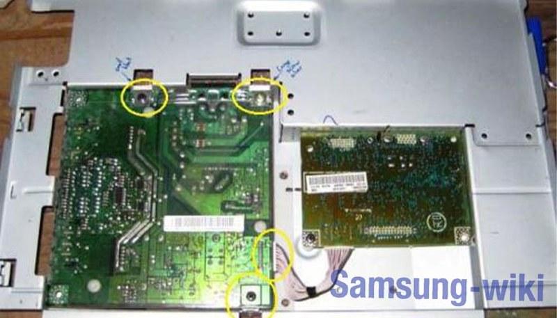 как разобрать монитор samsung syncmaster 740n