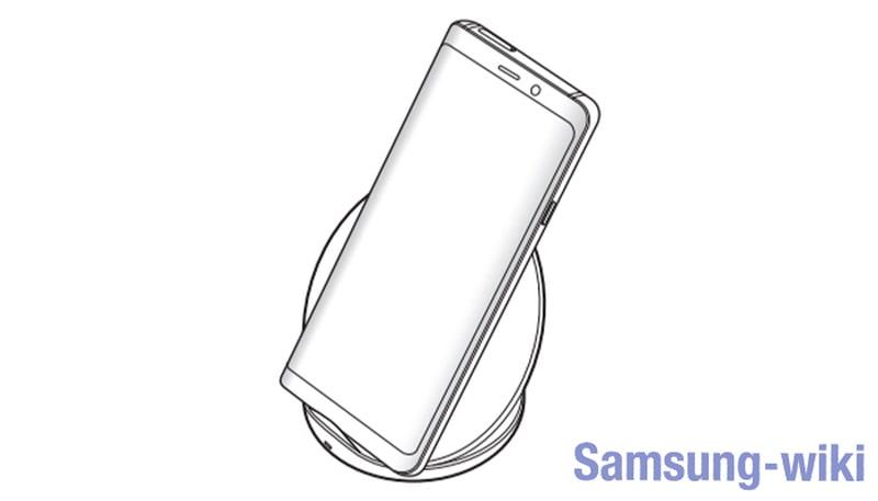 как работает беспроводная зарядка для телефона samsung