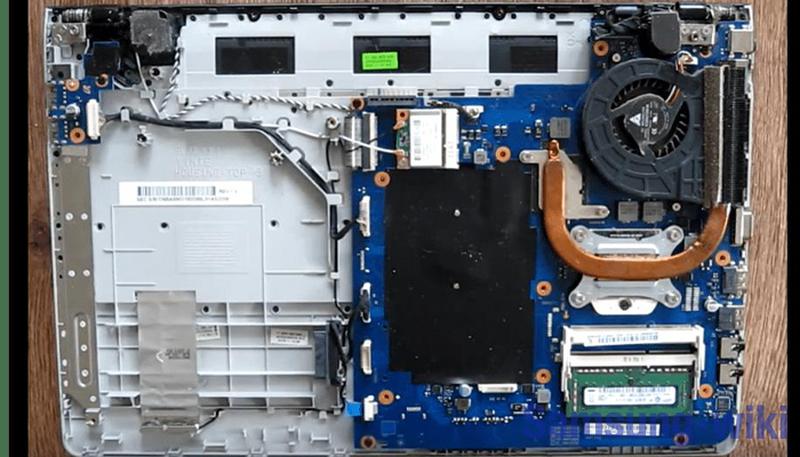 как разобрать ноутбук самсунг np355v5c