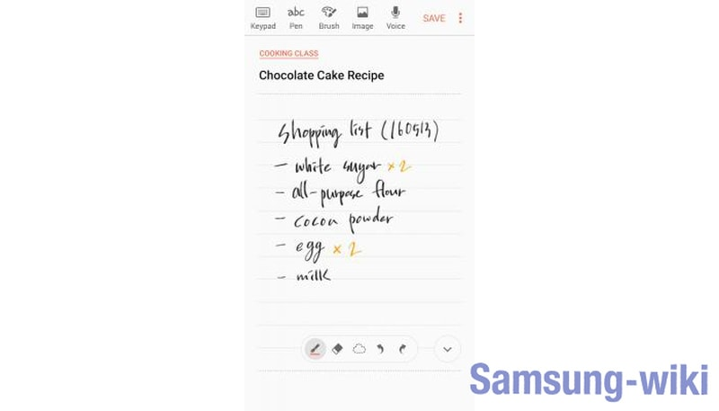 samsung notes что это