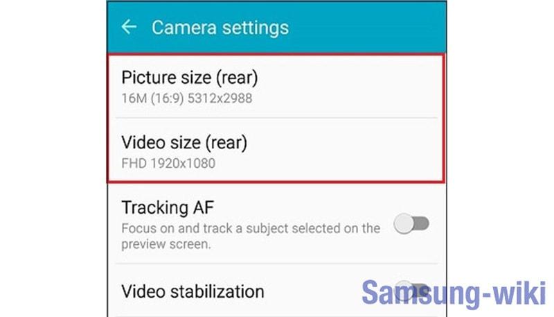 как настроить камеру на самсунг а70